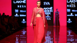 SVA Couture Bring Modern Royalty with their Collection at Lakme Fashion Week WF19