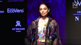 Sobhita Dhulipala Walks for Salita Nanda at LFW Winter Festive 2019
