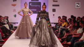 The Maaya by Pushpa Thianhoih at Bangalore Fashion Week AW19