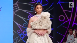 Daisy Shah Walks the Ramp for Pallavi Goyal at Bombay Times Fashion Week 2019