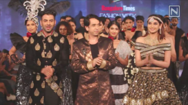Ramesh Dembla Collection Showcase at Bangalore Times Fashion Week 2019