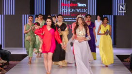 Jivaana Collection Showcase at Bangalore Times Fashion Week 2019