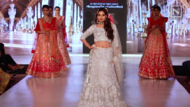 Tanya Hope Walks the Ramp for Indralokk at Bangalore Times Fashion Week 2019