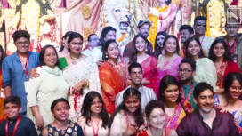 Bollywood Celebrities Come Together to Celebrate Durga Puja