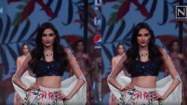 Athiya Shetty Turns Showstopper for Mahima Mahajan at Lotus Makeup India Fashion Week SS20