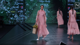 Nithya Reddy Showcases her Collection at Lotus Makeup India Fashion Week Spring Summer 2020