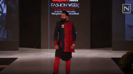 Karthik Jayaram Turns Perfect Muse to Chola by Sanjay & Shammy at BGTFW 2019