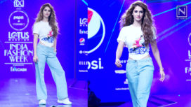 Disha Patani Walks the Ramp for Huemn at Lotus Makeup India Fashion Week SS20