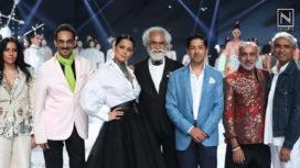 Kangana Ranaut Brings the Curtains Down at Lotus Makeup India Fashion Week SS20