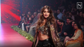 Ileana D'Cruz Turns Muse to Vikram Phadnis at Bombay Times Fashion Week 2019