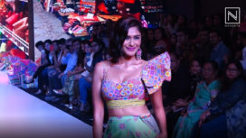 Mrunal Thakur Turns Showstopper for Ken Ferns at Bombay Times Fashion Week 2019