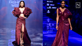 Designers and their Showstoppers - Malaika Arora and Lisa Haydon