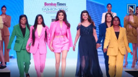 FMRtheStore by Rohini's Workwear Collection at Bombay Times Fashion Week 2019