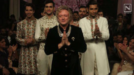 The Ace Couturier Rohit Bal's Grand Debut at Bangalore Times Fashion Week 2019