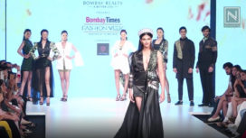 Shefali Sood Glides the Runway for the Aspiring Designers of INIFD at BTFW 2019