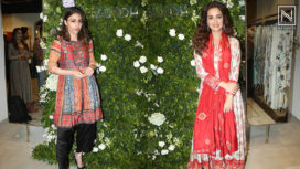 Soha Ali Khan and Dia Mirza Attend a Fashion Label's Store Launch