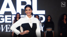 Sonam Kapoor Pays Tribute to Karl Lagerfeld as She Walks the Runway