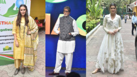 Amitabh Bachchan, Kriti Sanon and More Celebs Attend the Swachh Bharat Event