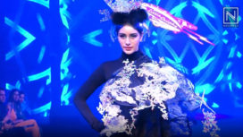 Warina Hussain Walks for Little Shilpa at Tech Fashion Tour 2019