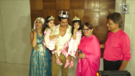 Celebs Attend Karanvir Bohra's Twins Bella-Vienna's Halloween Themed Birthday Bash