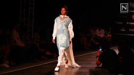 Diksha Khanna Presents Pine Breeze at Lotus Makeup India Fashion Week SS20