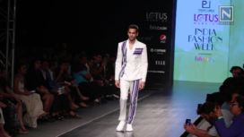 Paresh Lamba's Collection Showcase at LMIFW Spring Summer 2020