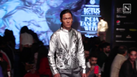 Manoviraj Khosla Presents Jungle Metal at Lotus Makeup India Fashion Week SS20