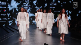DHI Presents Sustainable Collection Titli at Lotus Makeup India Fashion Week SS20