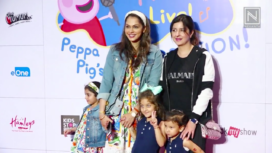 TV Celebs and their Kids Attend the Red Carpet Event of a Musical