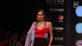 Sameer Madan Presents Time Capsule at Lotus Makeup India Fashion Week SS20