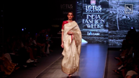 Naturally Anuradha Collection Showcase at Lotus Makeup India Fashion Week SS2020
