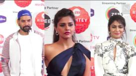 TV Celebs Grace the Red Carpet of Zee Rishtey Awards 2019