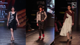 Two-Toned Outfits Were Absolute Fashion Hit on the Runway of LMIFW SS 20