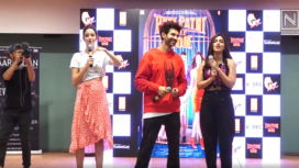 Star Cast of Pati Patni Aur Woh Promotes their Film in Style
