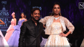 Amit GT Showcases his Collection at Lotus Makeup India Fashion Week SS20