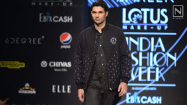 Bareek Showcases a Menswear Collection at Lotus Makeup India Fashion Week SS 2020