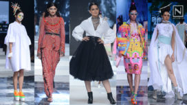 Kangana Ranaut Walks for Four Ace Designers at the Grand Finale at LMIFW SS 2020