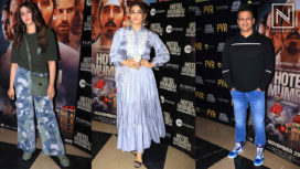 Raveena Tandon, Vivek Oberoi, Rithvik Dhanjani, and Others at Hotel Mumbai Screening