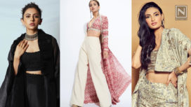 B-Town Celebrities Effortlessly Pulling Off Indo-Western Crop Tops with Pants & a Shrug