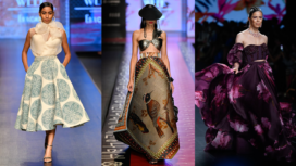 Trend Alert  : Jumbo Prints Rule the Runway of LMIFW SS 20