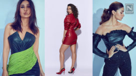 Leading Ladies of Bollywood Making Fashion Statements in Faux Leather Ensembles