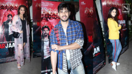 B-Town Celebrities Attend the Special Screening of Marjaavaan