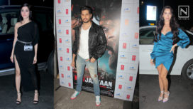 Celebrities Attend the Success Bash of Marjaavaan in Style