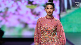 Abstract by Megha Jain Madaan at Lotus Makeup India Fashion Week Spring Summer 2020