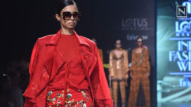 Nikita Mhaisalkar Presents Savannah at Lotus Makeup India Fashion Week SS 2020