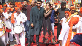 Arjun Kapoor and Kriti Sanon Come Together for Panipat's Song Launch