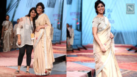 Sakshi Tanwar Sashays the Ramp for Pramaa by Pratima Pandey at LMIFW SS20
