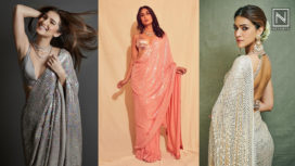 Bollywood Divas Nailing thier Ethnic Looks in Manish Malhotra Sequinned Saris