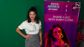 Sunny Leone Promotes Song for Ragini MMS Returns Season 2