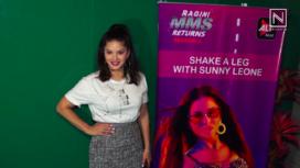 Sunny Leone Promotes Song for Ragini MMS Returns Season 2